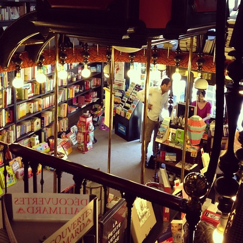 L'Oliphant jewelry and the prettiest bookstore in Biarritz