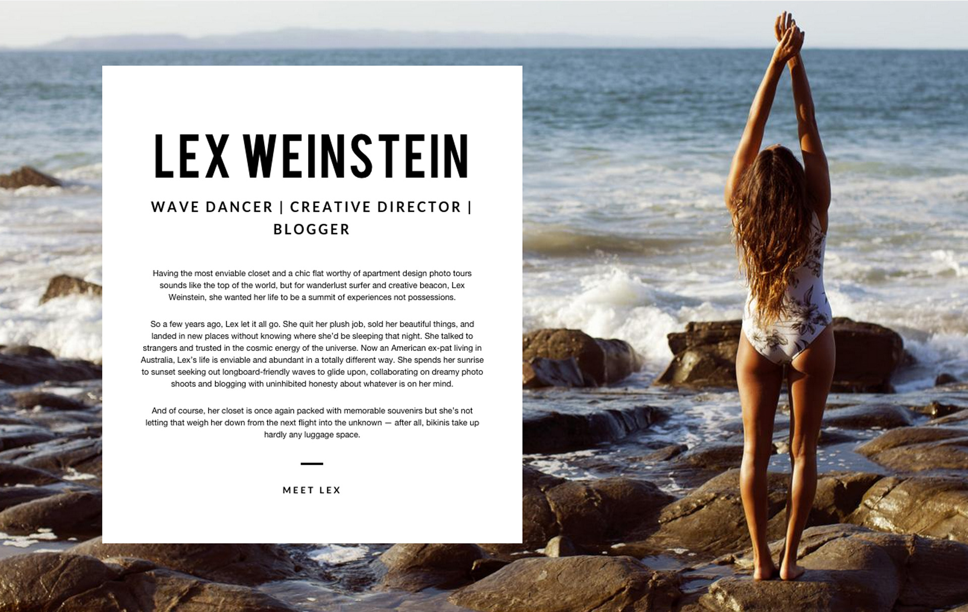 Amuse Society - Lex Weinstein