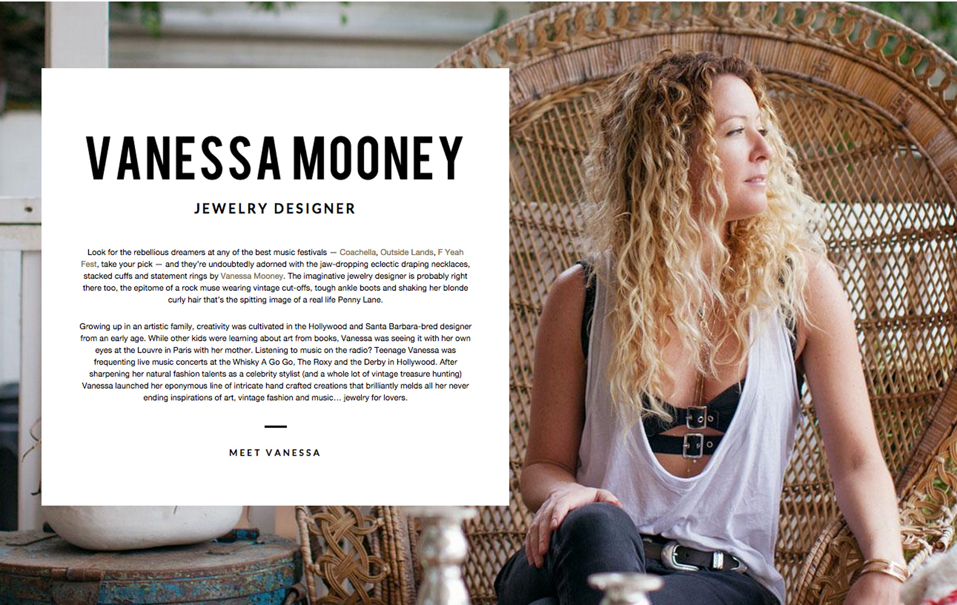 Amuse Society - Vanessa Mooney