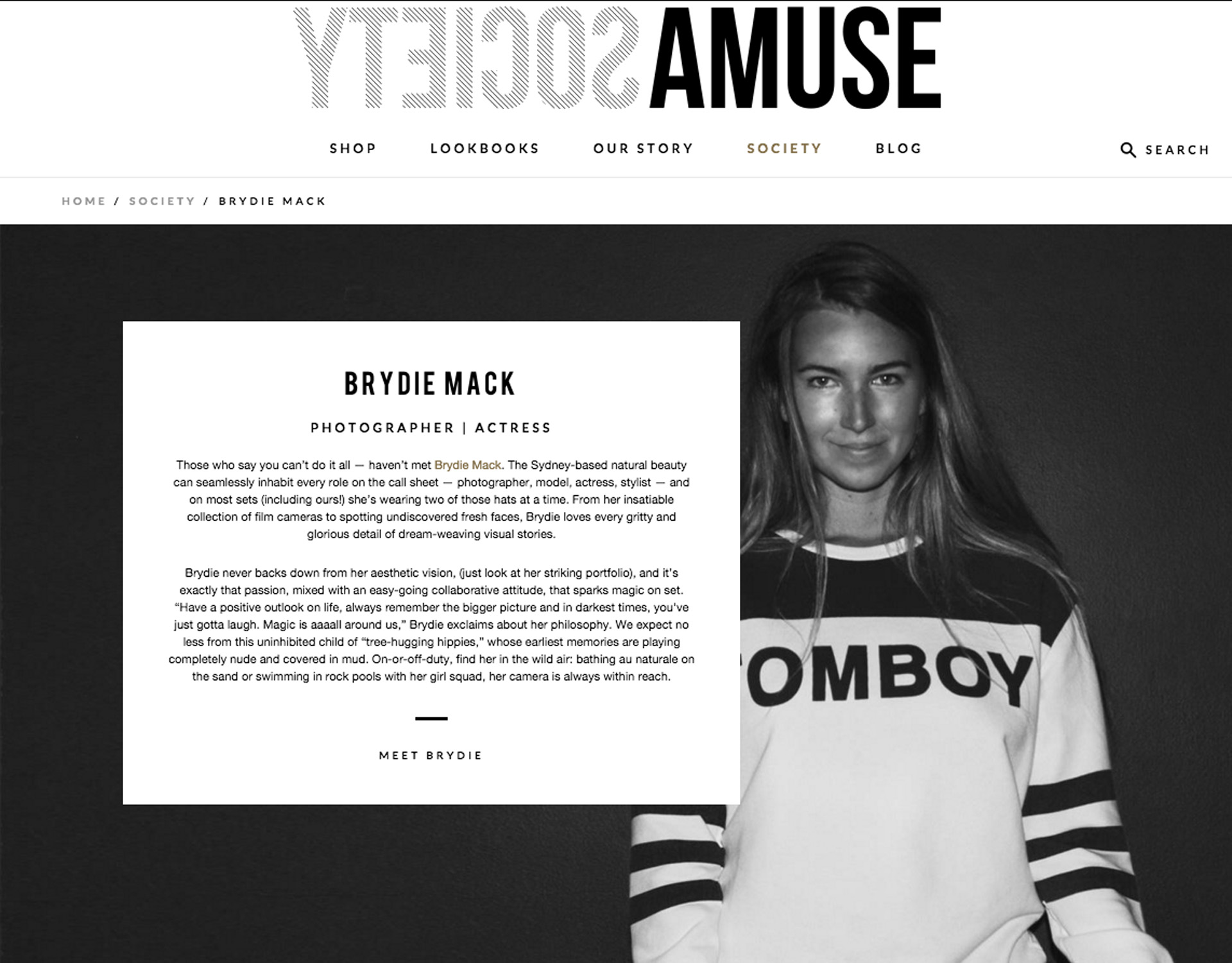 Amuse Society - Brydie Mack